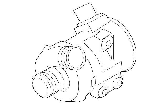 Genuine Bmw Water Pump 11518635089