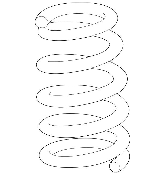 Spring, Rear - Acura (52441-SZN-A52)