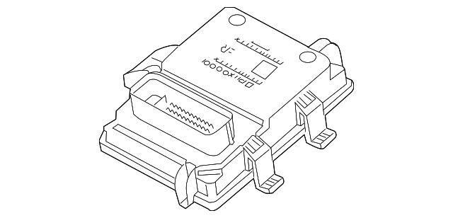 2012 2017 Gm Control Module 22872266