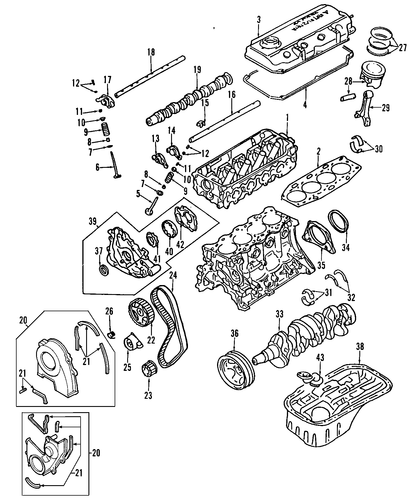 Engine Diagram 95 Mitsubishi Mirage