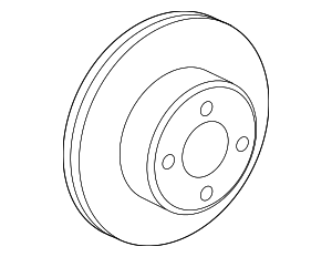 Disc Brake Rotor - Toyota (42431-52080)