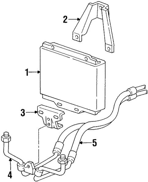 oil cooler for 1992 gmc k2500 pickup