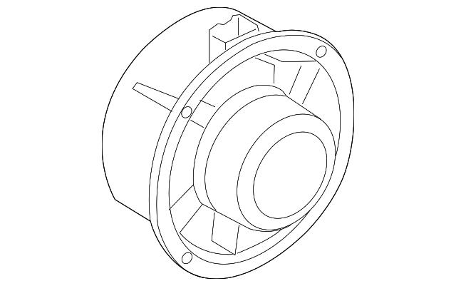 vw bug speaker