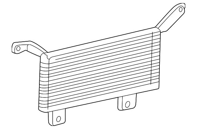 Genuine Ford Trans Cooler FL3Z-7A095-A
