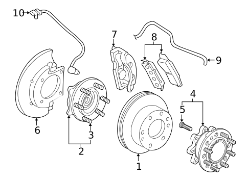 Brake Components for 2018 Chevrolet Express 2500 #0