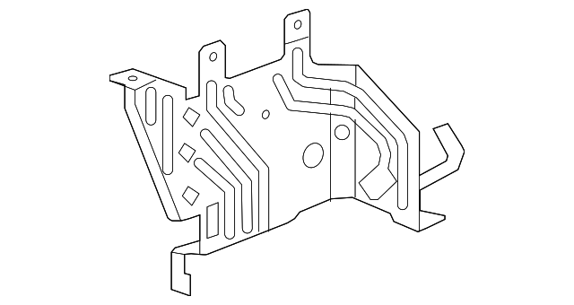 bracket  main fuse box
