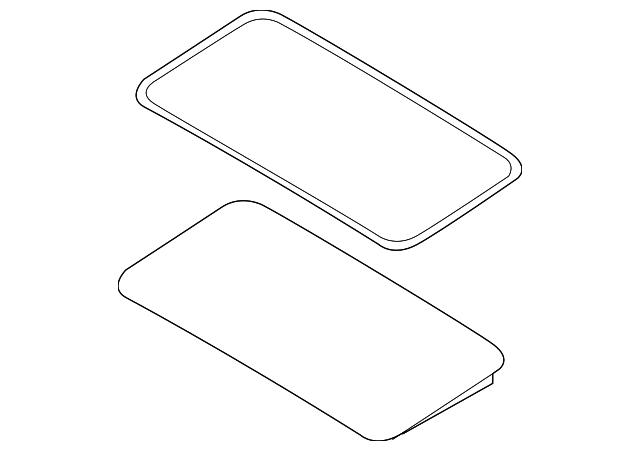 sunroof panel