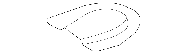 TOYOTA 58325-35010 Floor Service Hole Cover