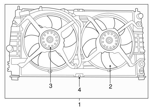 Cooling Fan For 2001 Chrysler 300m