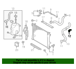 Radiator Hose Bracket