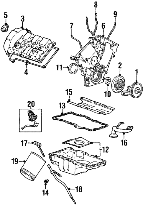 Ford Engine Parts