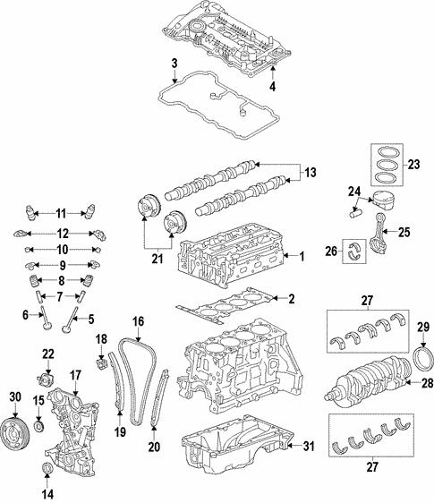Oil Pump Oem Parts For 2015 Kia Forte