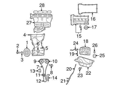 Engine Parts for 2010 Chrysler Sebring | Mopar Parts