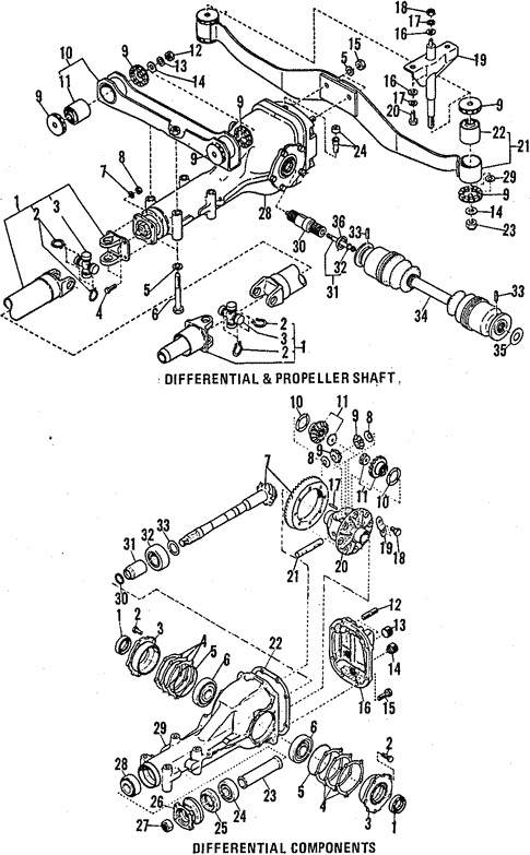 Rear Suspension For 1984 Subaru Brat