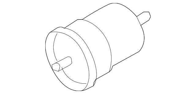 genuine audi fuel filter 1k0