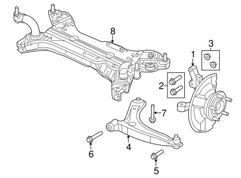 Suspension Components For 2008 Jeep Patriot