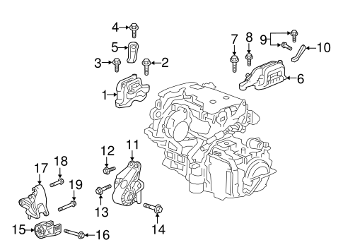 traverse engine diagram engine   trans mounting for 2019 chevrolet traverse gm wholesale  mounting for 2019 chevrolet traverse