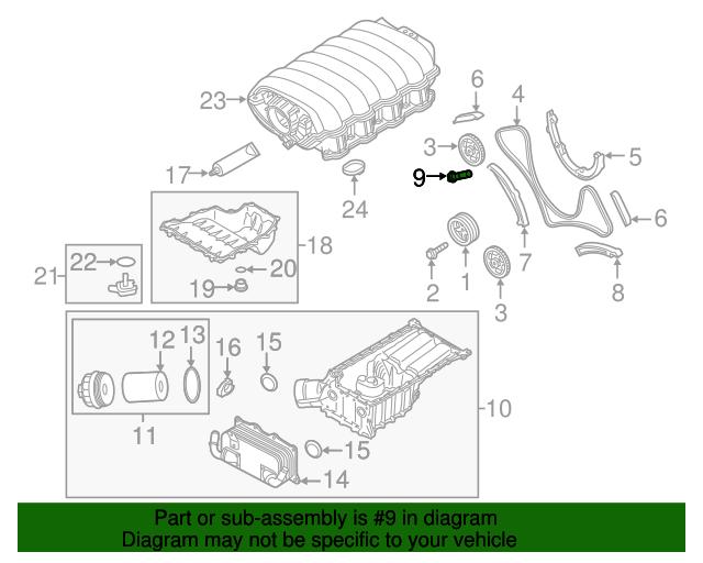 engine timing chain tensioner - porsche (948-105-180-11)   sunset porsche  parts  sunset porsche parts
