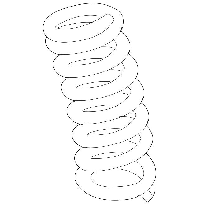 2018 2019 dodge challenger coil spring 68316056ab don jackson Dodge Ramcharger Bumper Guard coil spring mopar 68316056ab