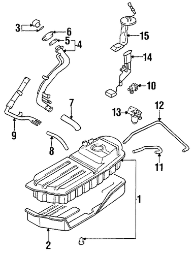 2002 Kia Sportage Engine Diagram Fuel System