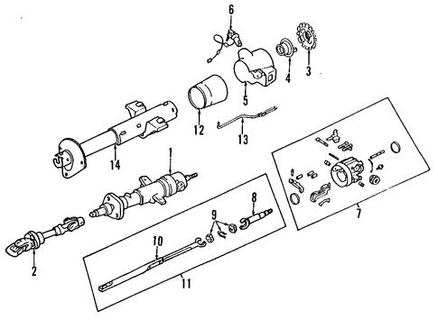 steering column for 2002 chevrolet camaro