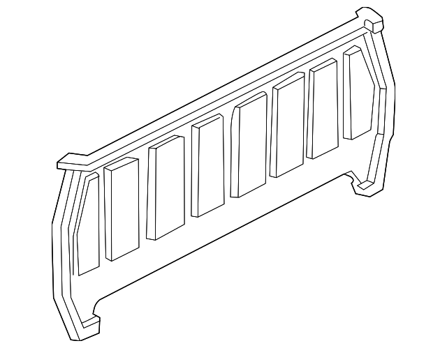 Back Panel Ford F37z1340300a: 2006 Ford Ranger Fx4 Bumper Diagram At Daniellemon.com