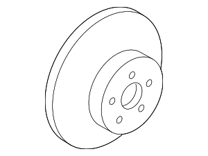 Rotor - Toyota (43512-0R010)