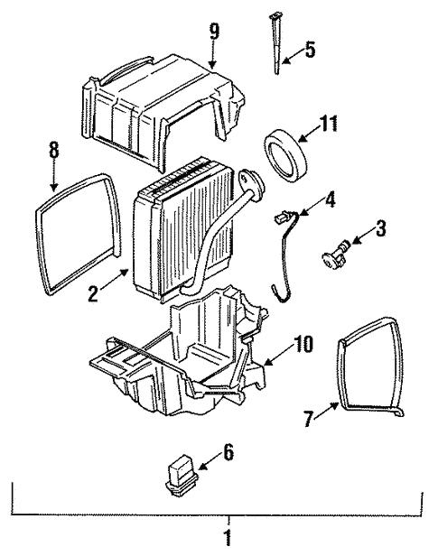 Condenser Compressor Lines For 1992 Subaru Svx