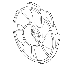Fan, Cooling - Acura (38611-R4H-A01)