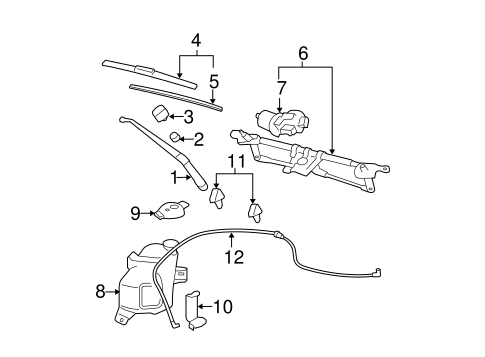 Gm Wiper Arm 15807607 moreover Gm Rocker Molding 12384482 furthermore Gmfs70 88chv8 additionally Gm Tire Pressure Sensor 88974915 likewise Gm Belt And Retractor 19260175. on buick regal exhaust