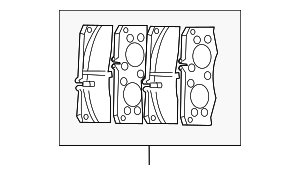 Brake Pad - Mercedes-Benz (001-420-14-20)