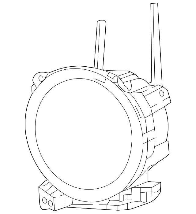 composite headlamp