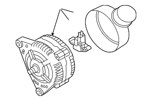 Alternator - Volkswagen (038-903-018-R)