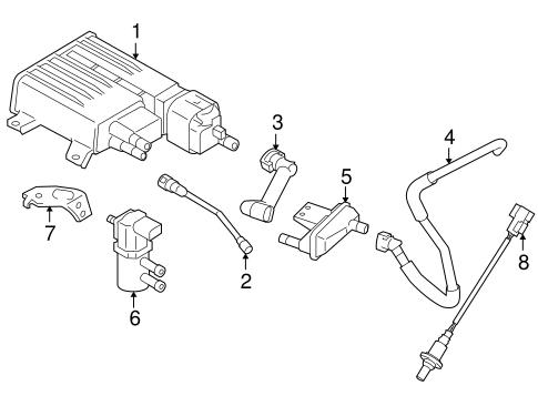 Emission Components For 2010 Suzuki Kizashi