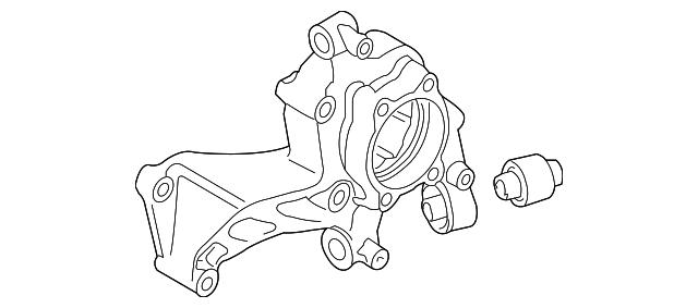 2006 2017 Volkswagen Spindle 3c0 505 433 G