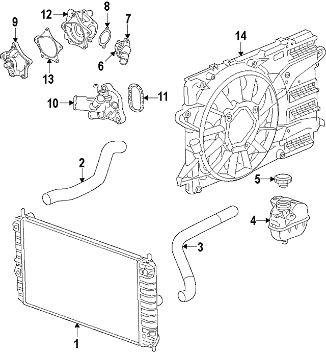 Water Pump Housing - GM (12681168)