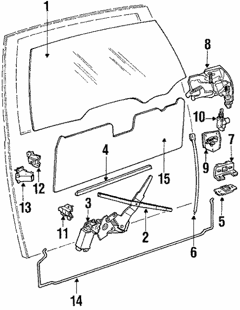 Oem 1990 Chevrolet Caprice Tailgate Parts