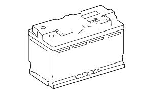 Vehicle Battery - Mercedes-Benz (001-982-81-08)