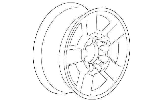 84007089 wheel