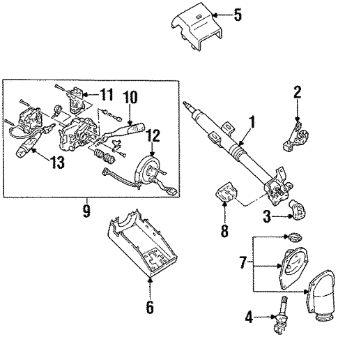 Switches For 1995 Ford Aspire