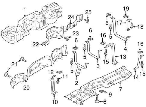 Fuel System Components For 2019 Ford F 350 Super Duty