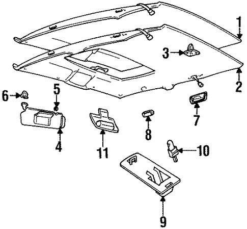 2006 Cadillac Sts Fuse Box Diagram