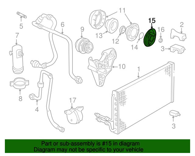 clutch plate hub assembly gm 89019049 gmpartsdirect com rh gmpartsdirect com