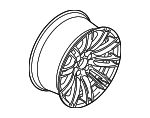 Wheel, Alloy - BMW (36-11-2-284-750)