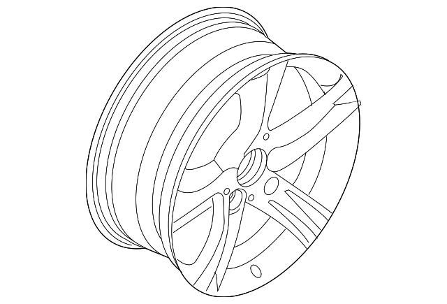 2014 2018 Bmw Wheel Alloy 36116979239