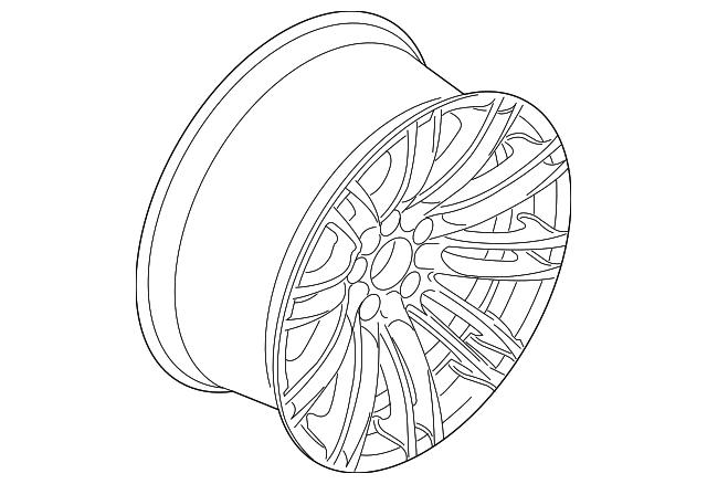 2013 2017 Bmw Wheel Alloy 36 11 6 850 376
