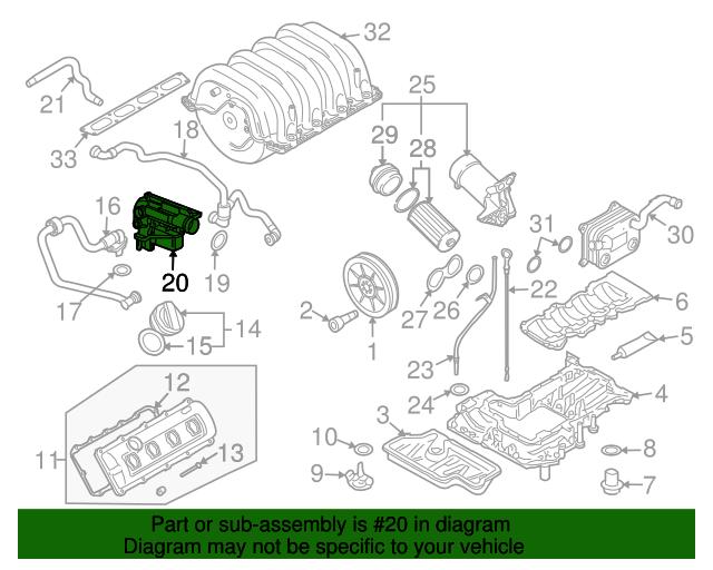 Separator - Audi (079-103-464-F)   Audi USA Par