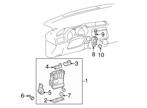 Electrical Components For 2016 Scion Tc