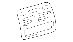 Panel Cover - Toyota (55405-02060-B0)