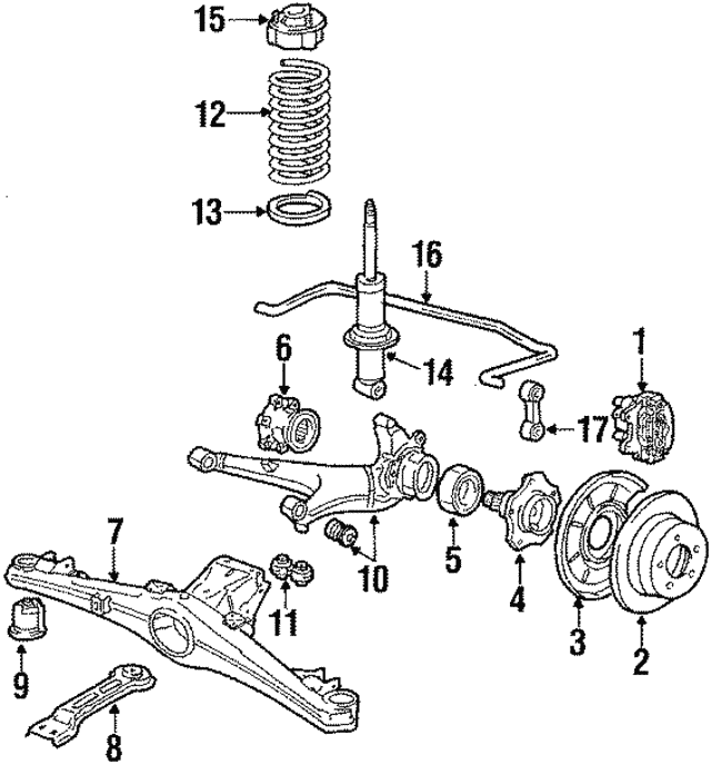 Shock Absorber - BMW (37-12-2-225-775)